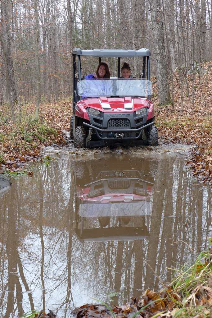 Jenn & Melissa out on a rip!