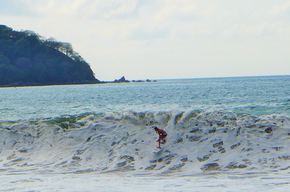 Many pro surfers in Sayulita