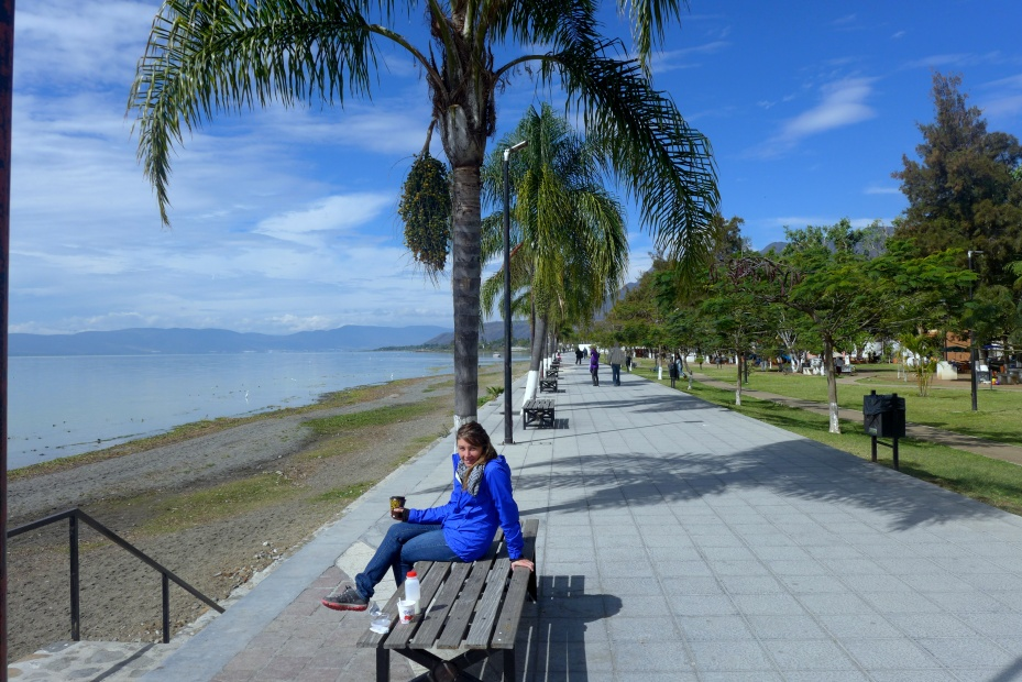 breakfast along lake Chapala
