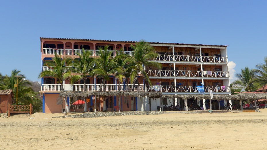 Typical hotel on the beach