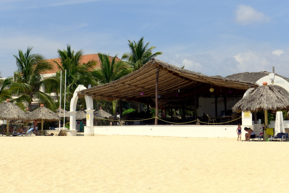 beach club at hotel costillo