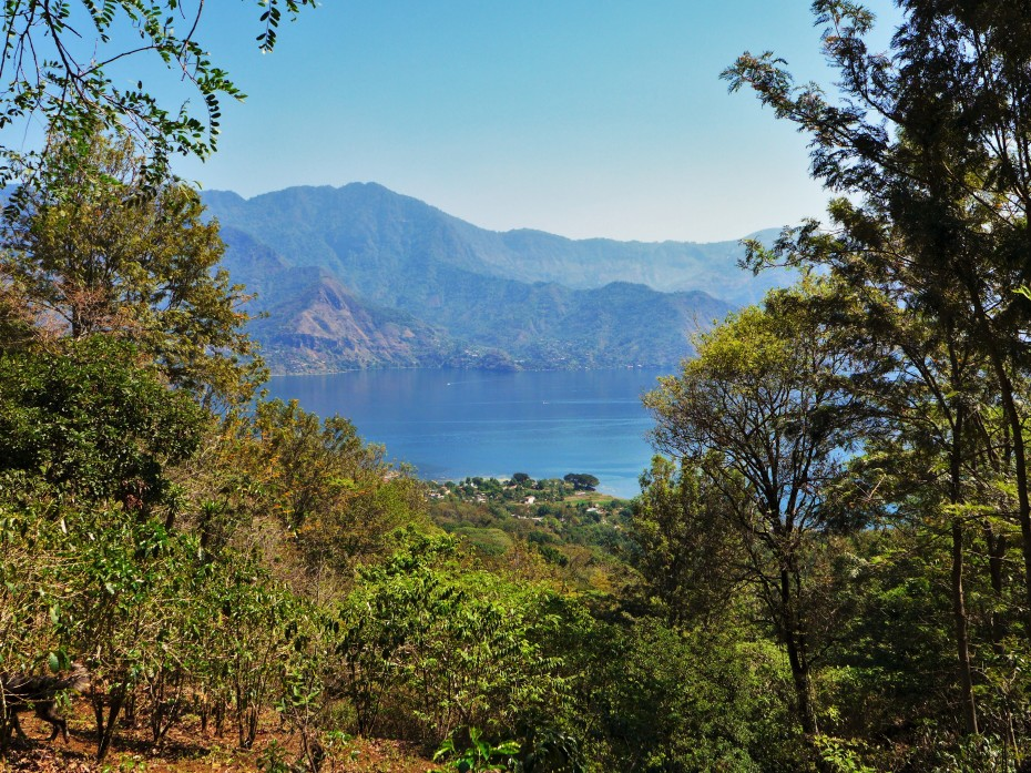 and gorgeous views of Atitlan below
