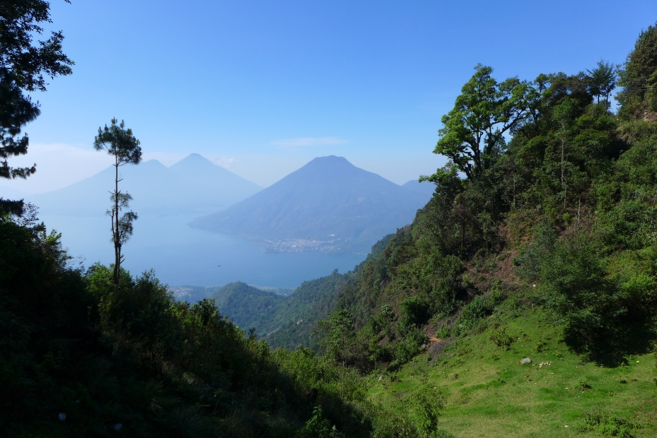 last look at Atitlan before we wished it farewell... for now.