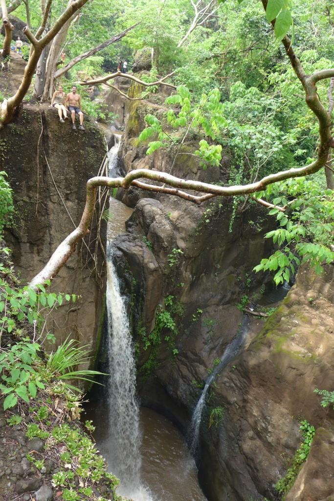 Tamanique falls