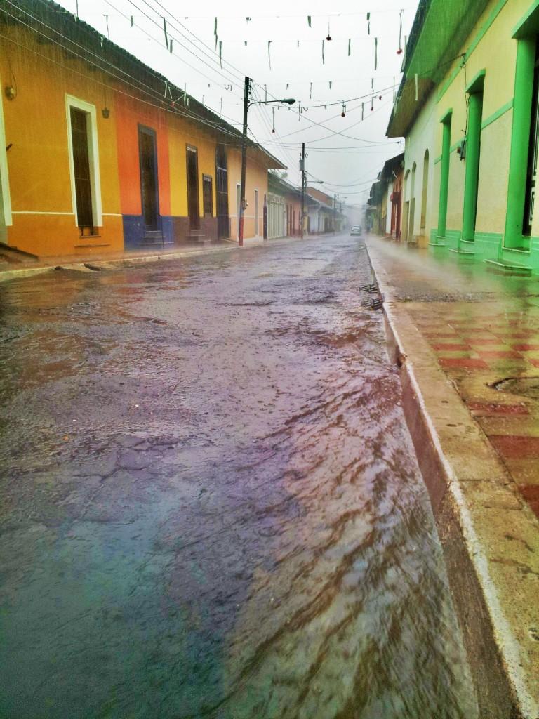 when it rains it pours in Granada... trust me!