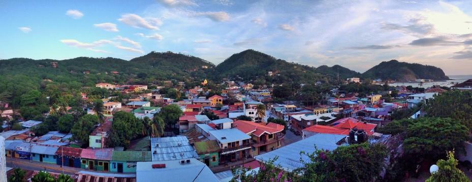 view from Hotel Maracuya