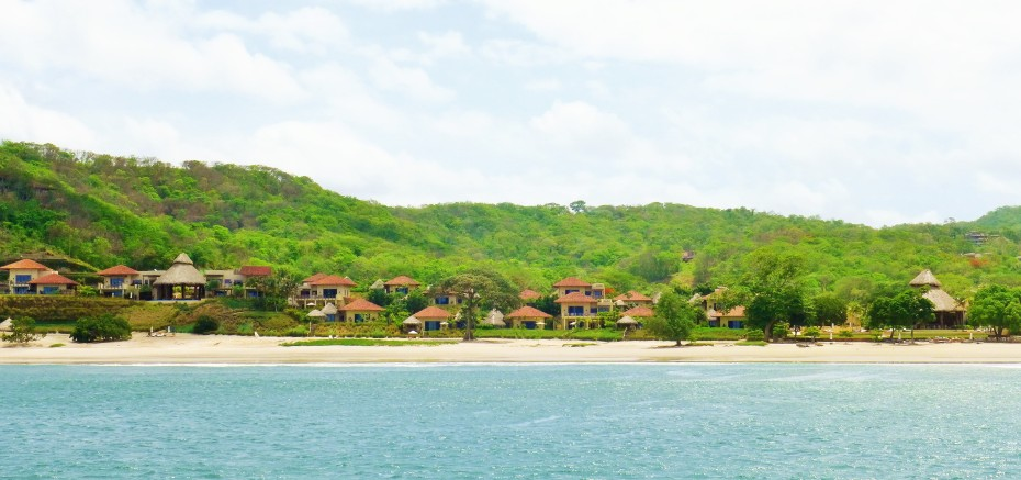 This beach front development is owned by the owner of the local Nicaraguan beer company Tona... much dinero!!