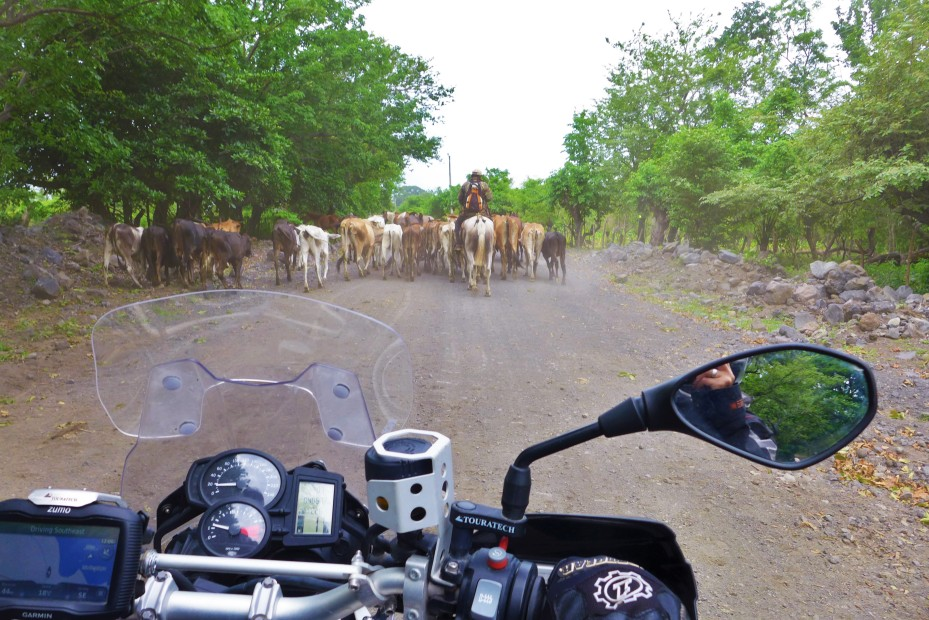 The other half of the roads look like this one on Ometepe