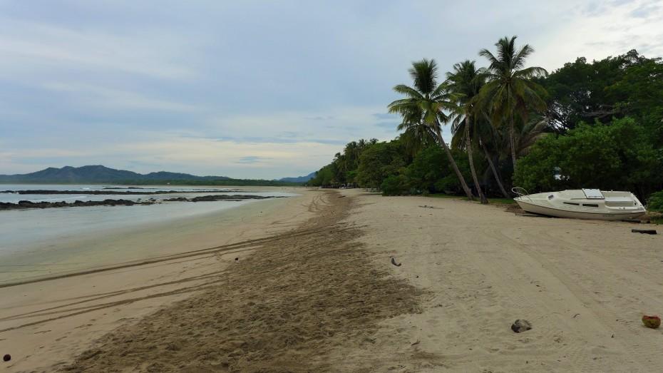 quiet beach at 7 a.m.