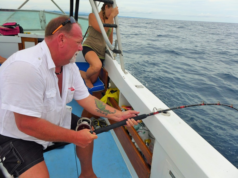 Steve got a good rod bend from this one!