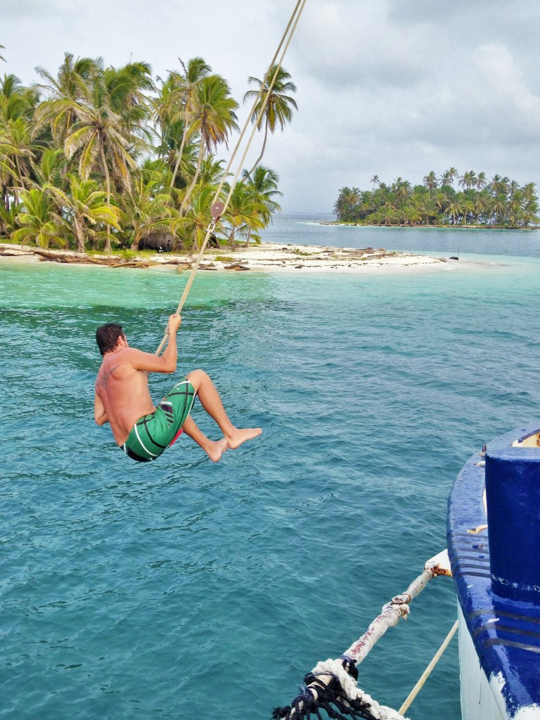 famous Stahlratte rope swing