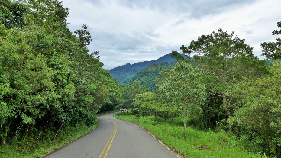 smooth mountain curves in Panama