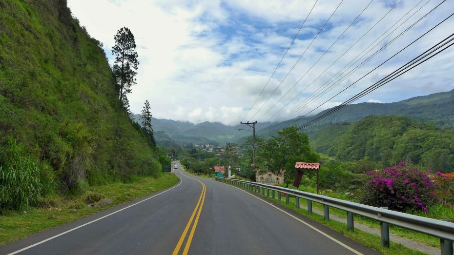 arriving in Boquete