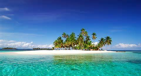island in the San Blas