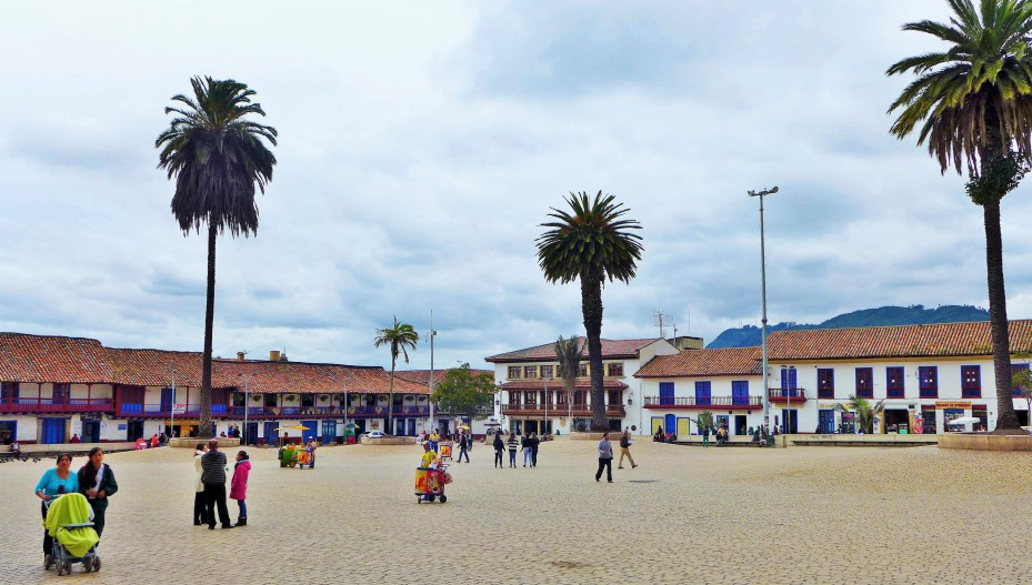 one of Zipaquira city centros
