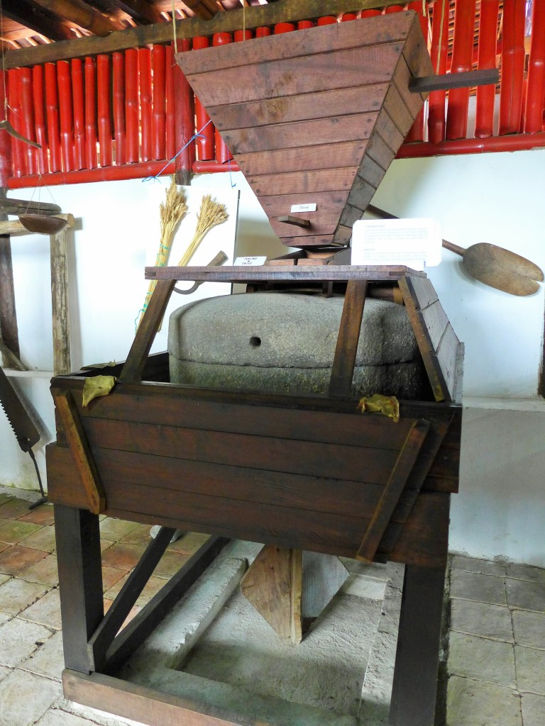 equipment used to grind grains