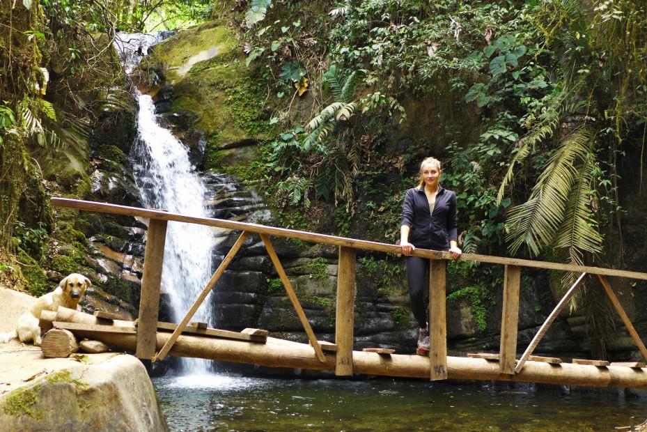 nice local waterfall