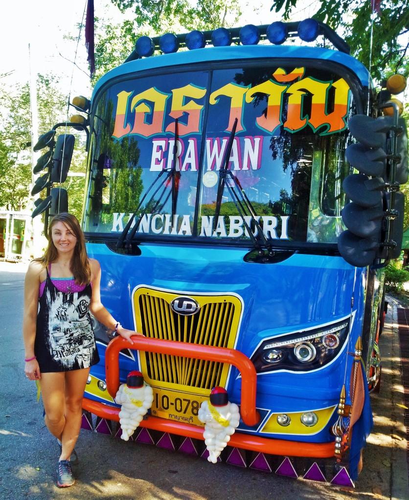 Kanchanaburi to Erawan daily bus