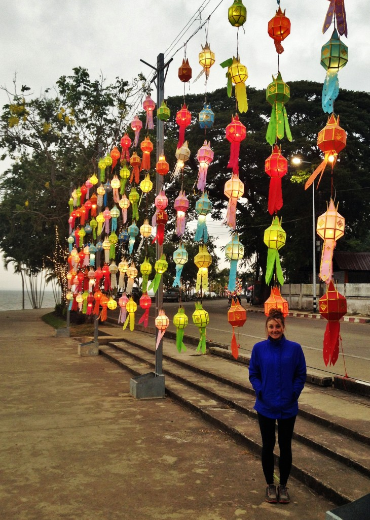 colours along the boardwalk in Phayo