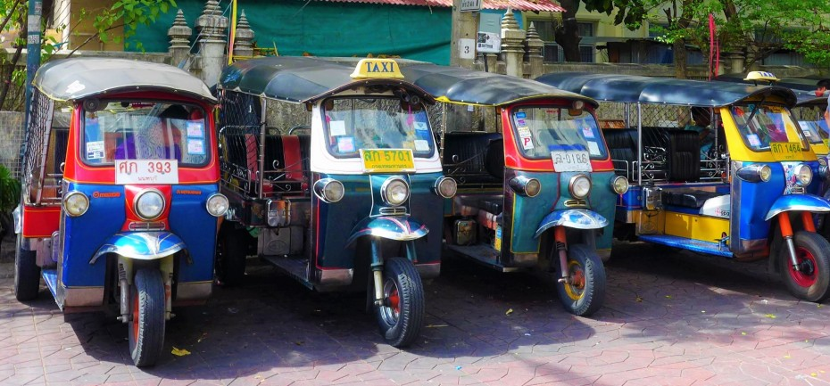 Tuk Tuk's... same same but different!!