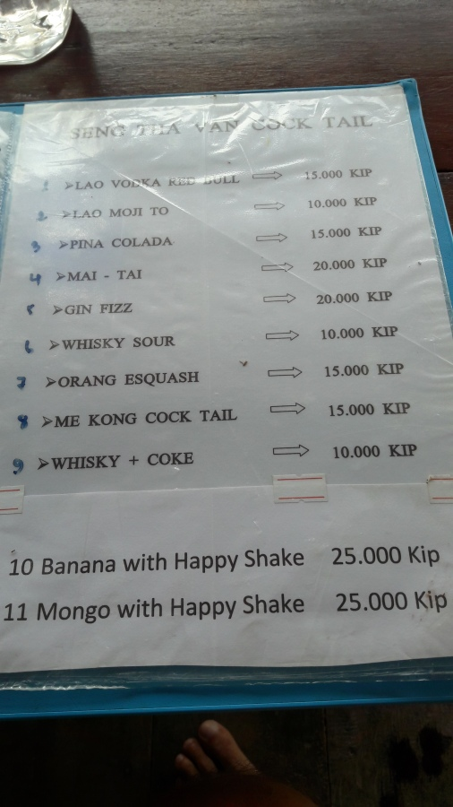 "$4.50 buys ""happiness"" in Vang Vieng"