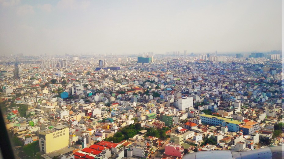 Ho Chi Minh from above... 8,000,000+ people