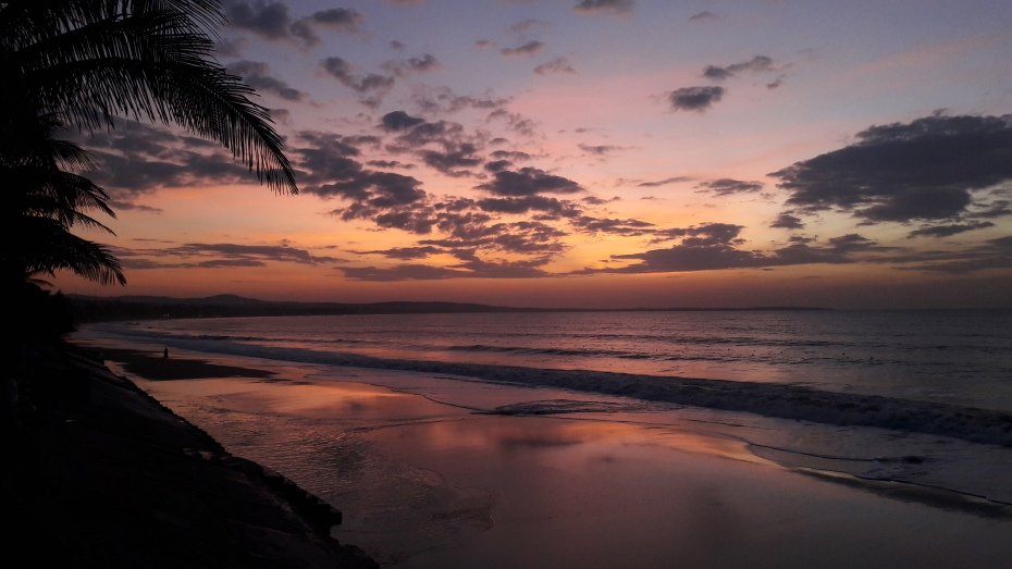 sunrise begins over Mui Ne