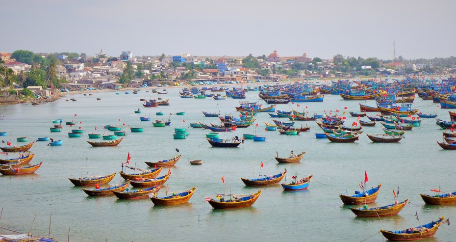 Mui Ne fishing fleet